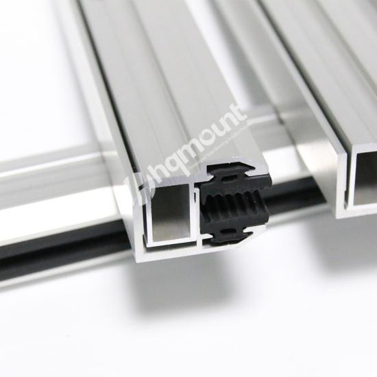 Aluminum Frameless Panel Clamp
